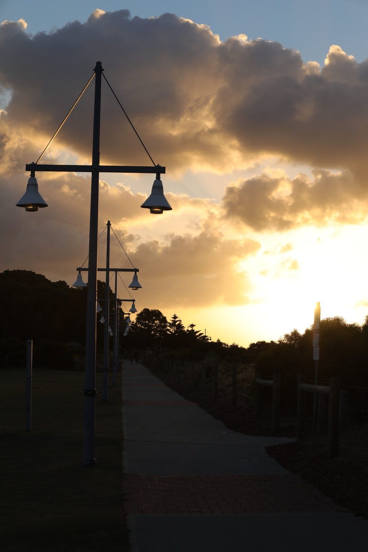 Street lamps, Rockingham