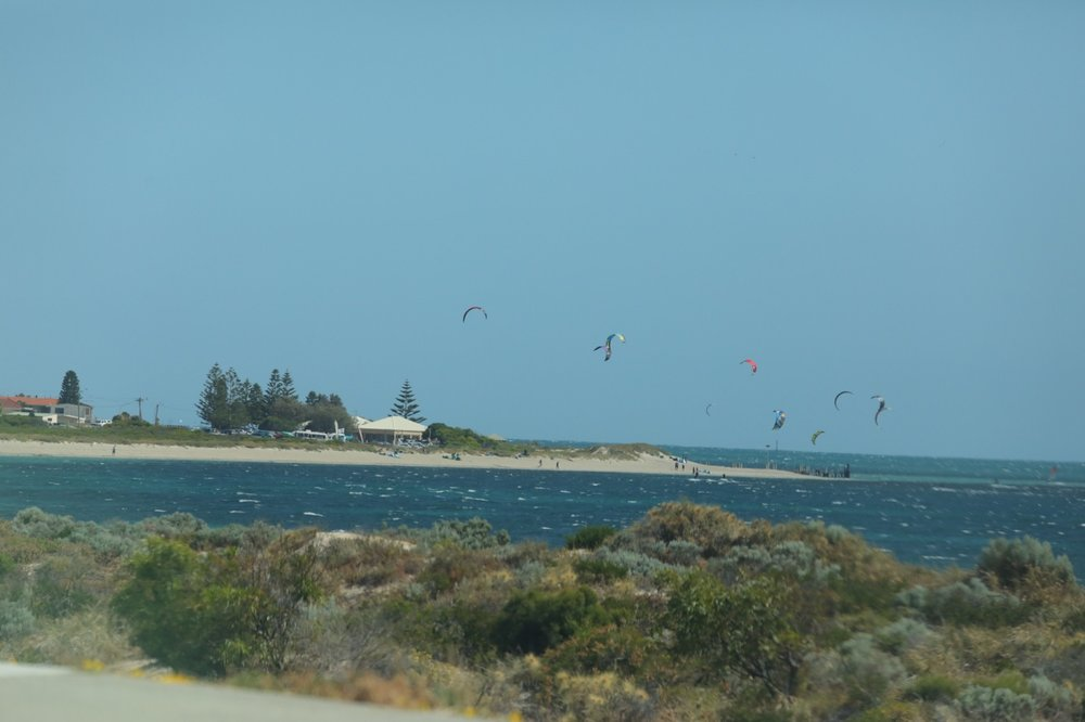 Wind surfers!