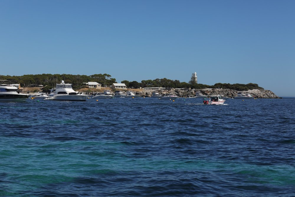 First view of Rottnest