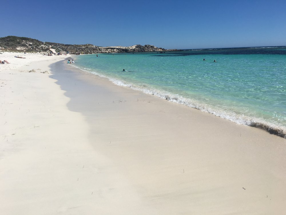 Typical Beach on Rottnest