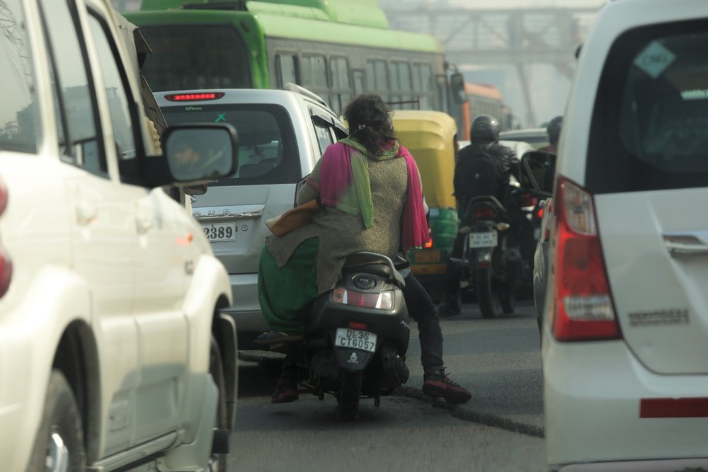 Side saddle India style