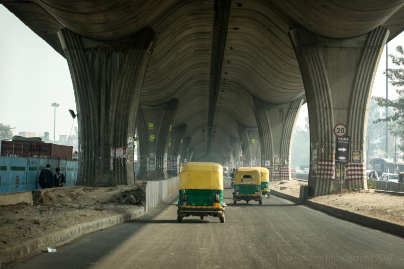 Tuk-tuks, Delhi, India