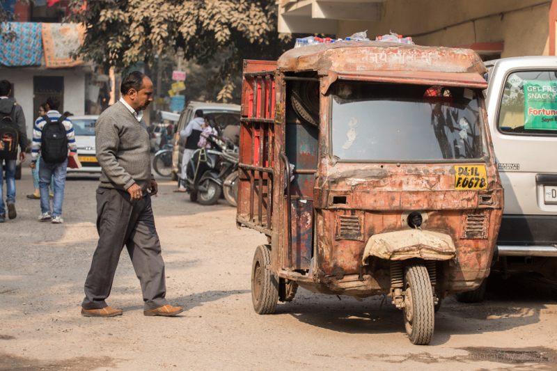 Rusty Tuk-tuk, Delhi, India
