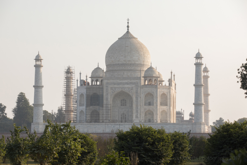 Taj Mahal from the North, Agra, Uttar Pradesh, India