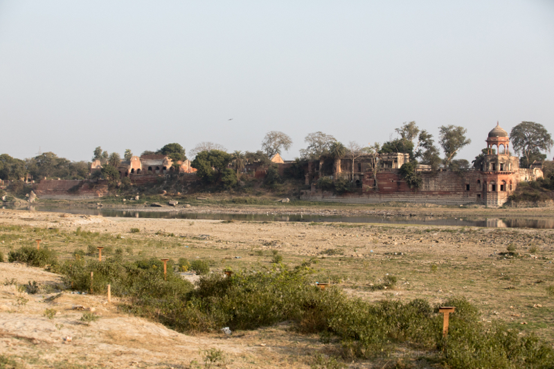 Across the Yamuna River, Agra, Uttar Pradesh, India