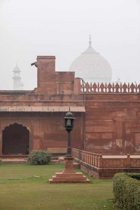 Taj Mahal garden area, Agra, Uttar Pradesh, India