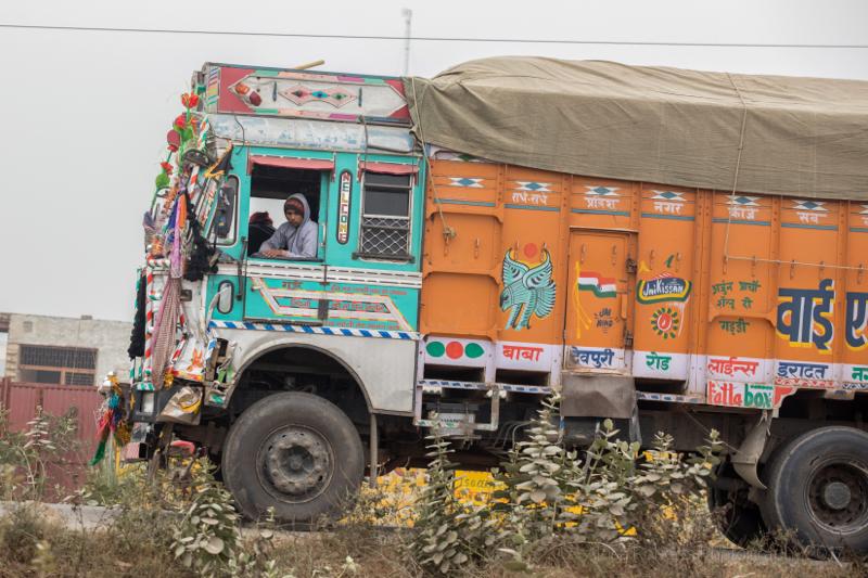 Indian Truck, Farah, India