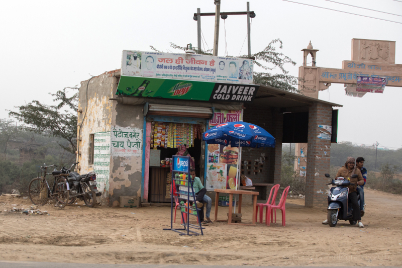 Roadside shop, Kosi, Uttar Pradesh, India