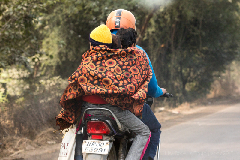 Fully loaded moped! Palwal, India