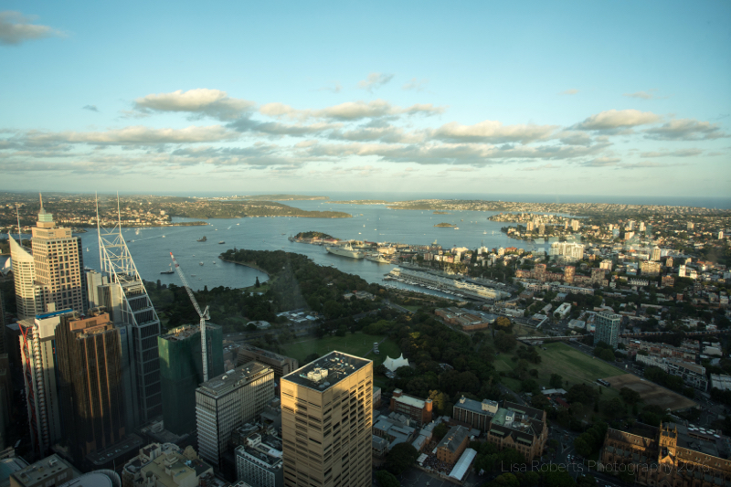 Sydney from the Eye Tower, Australia