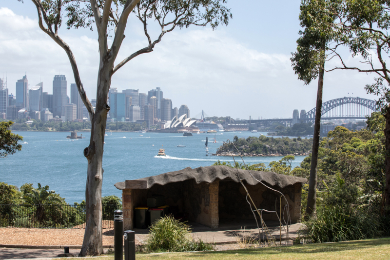 View from Taronga Zoo, Sydney, Australia