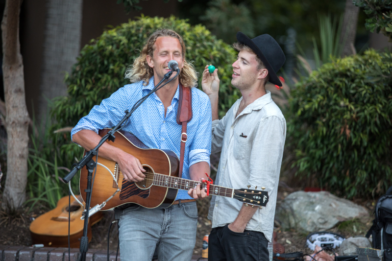 Jack Dawson & friend performing at Sydney Harbour, Australia