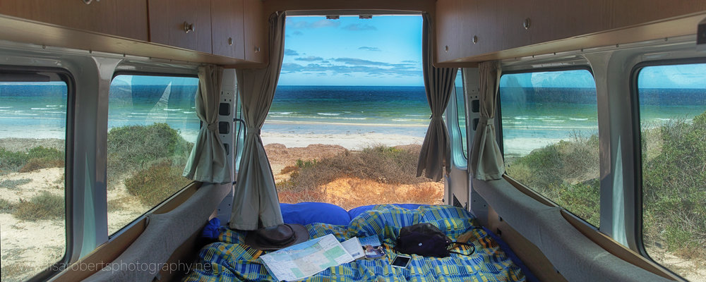 A room with a view, Fowlers Bay, South Australia
