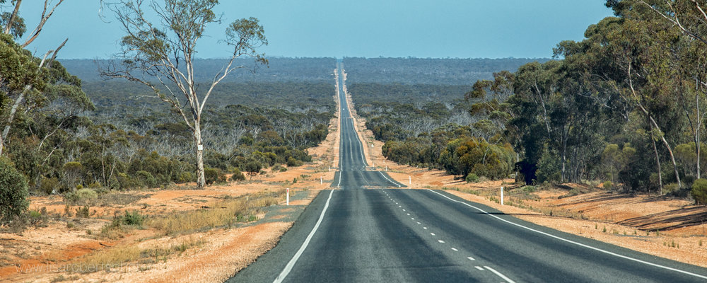 The Eyre Highway Western Australia