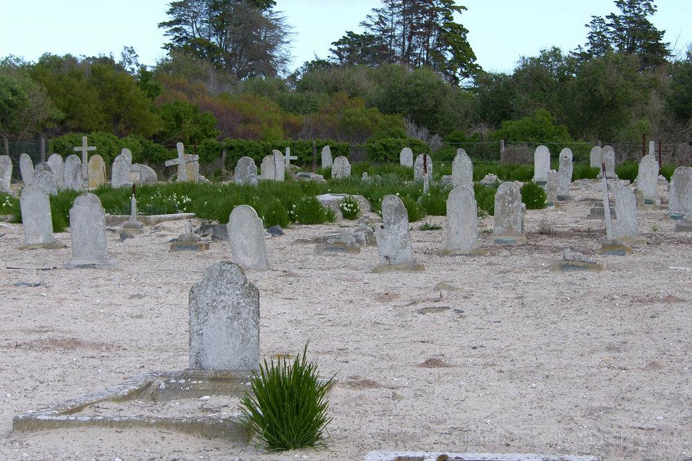 Leper graveyard,Robben Island Prison, Robben Island, Western cape, South Africa