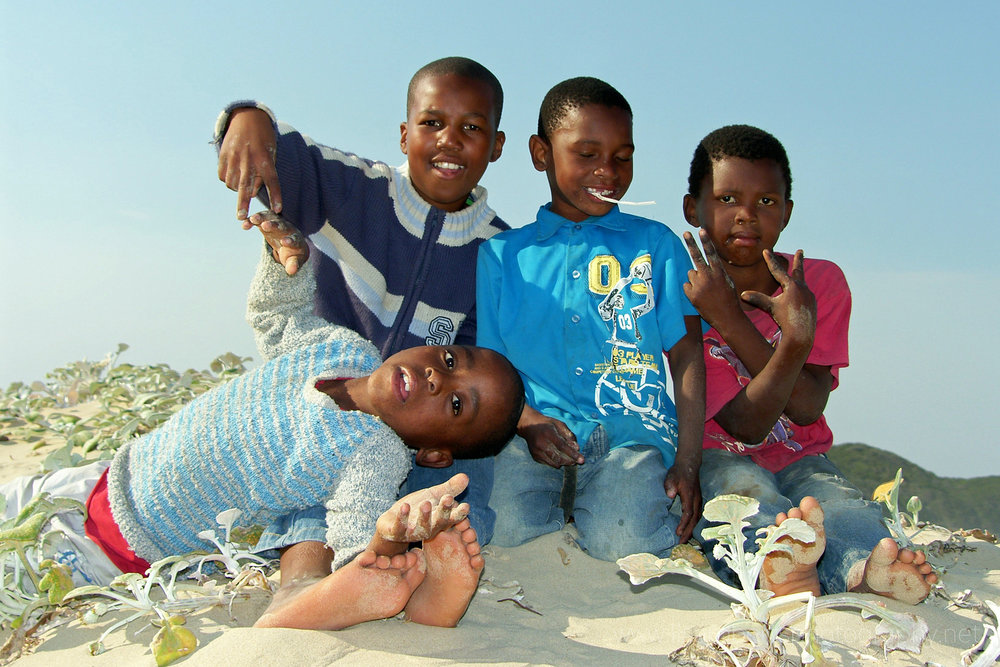 Local Boys, Kenton-on-Sea,   Eastern Cape, South Africa