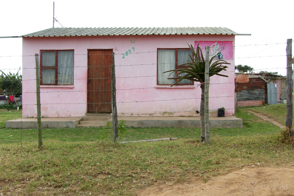 House in local Village, Eastern Cape, South Africa