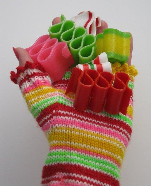 christmas ribbon candy self striping sock yarn - Christmas Ribbon Candy