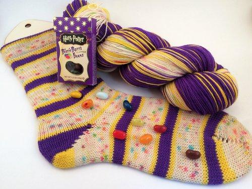 Self Striping Sock Yarn — home