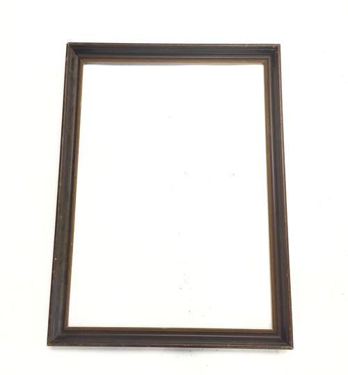 Dark Stain Picture Frame Hook Props