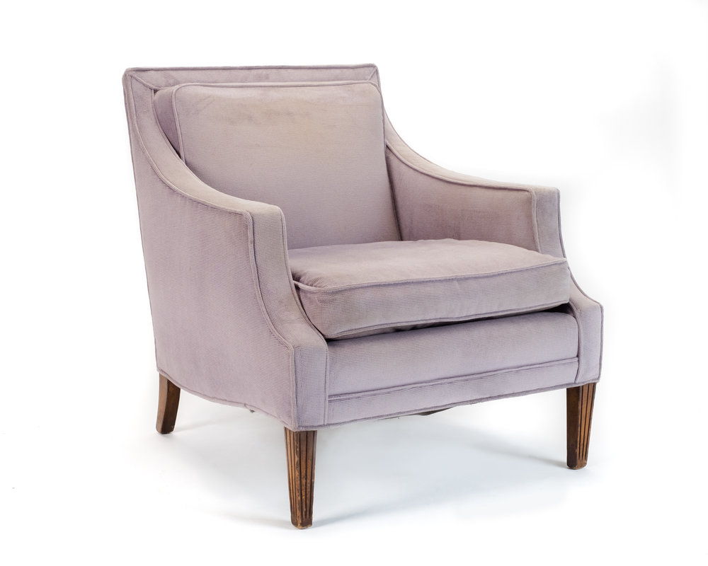 Charmant PURPLE ARMCHAIR