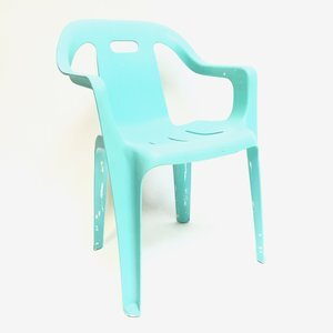 AQUA PLASTIC CHAIR