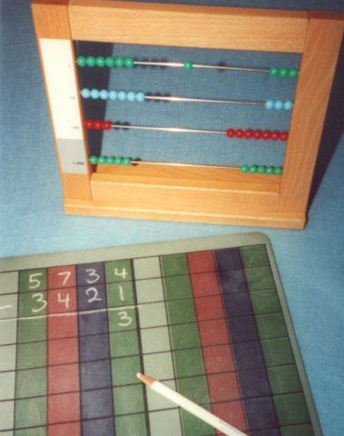 33 Operations With The Small Bead Frame Albanesi Montessori Files