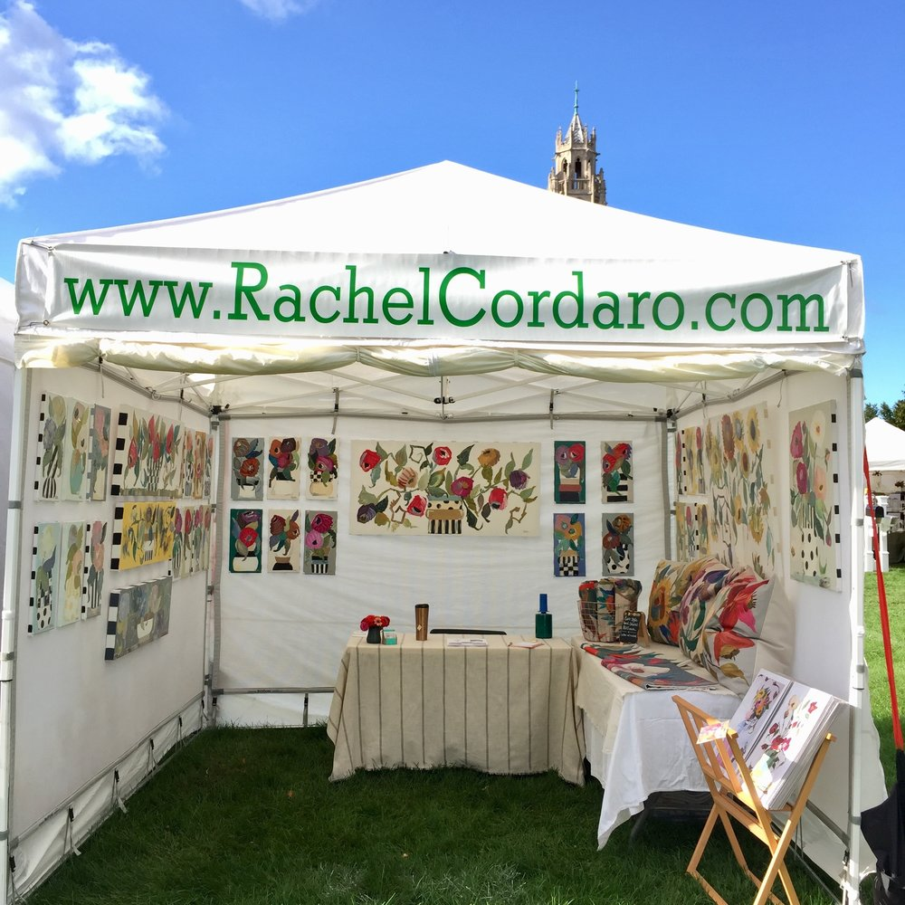 Rachel Cordaro's Booth in 2017