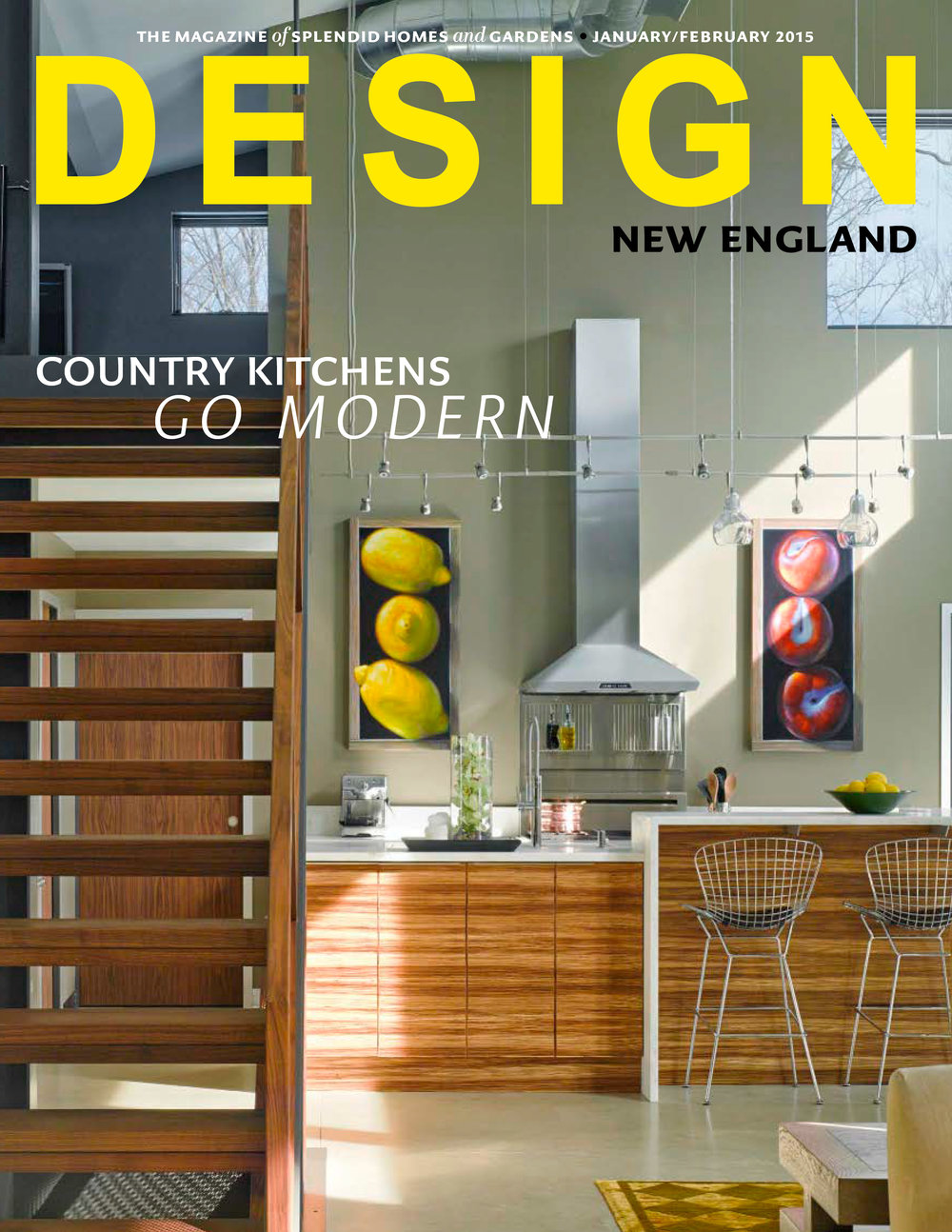 Under the Stoop    Design New England   Jan/Feb 2015  Imagination and innovation are harnessed to turn a crawl space into a tiny jewel of a bathroom. Images show a charming spa-like bath installed in the most unlikely of spaces.