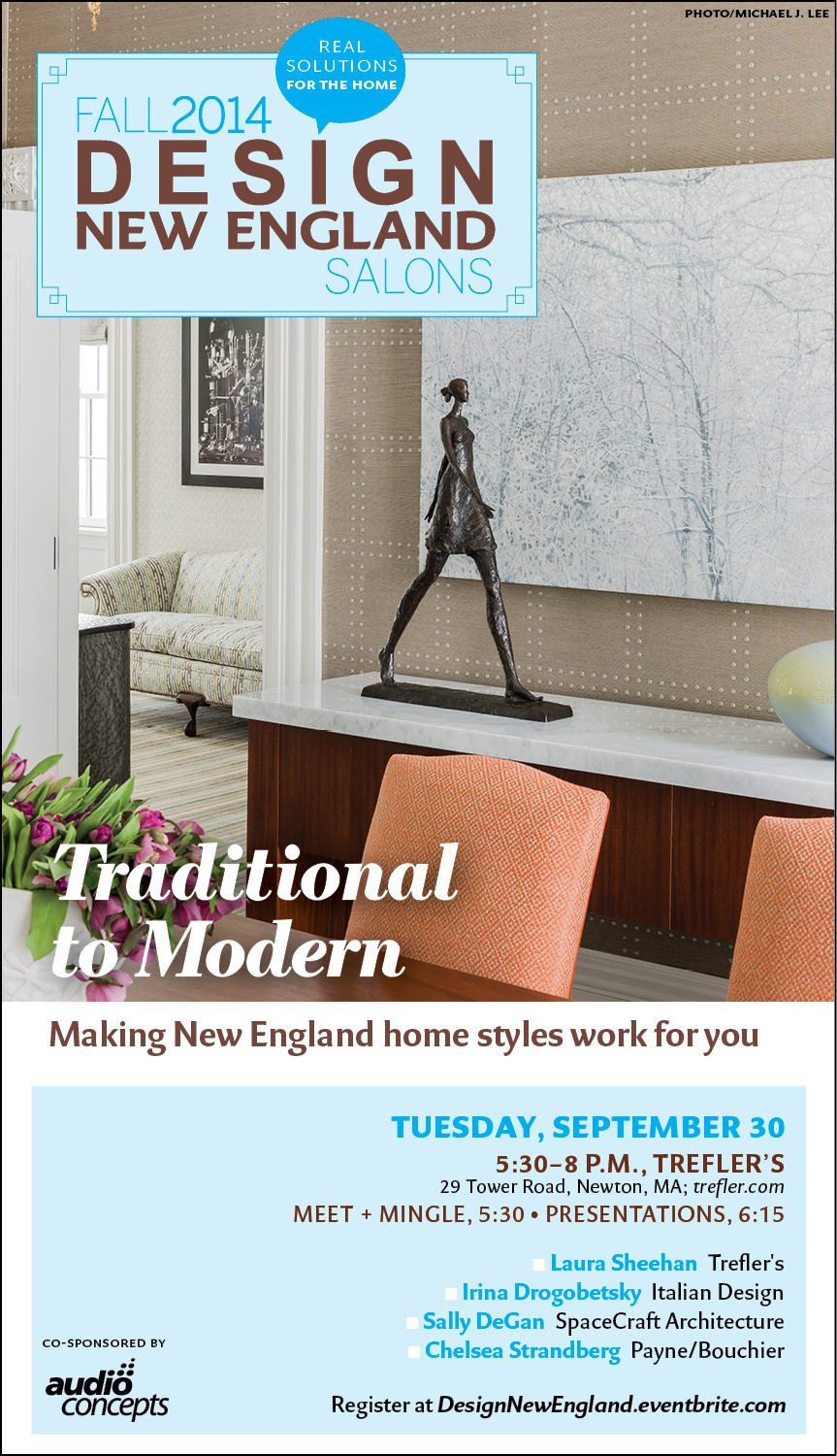 Design New England Salon Series Speaker                                 2015