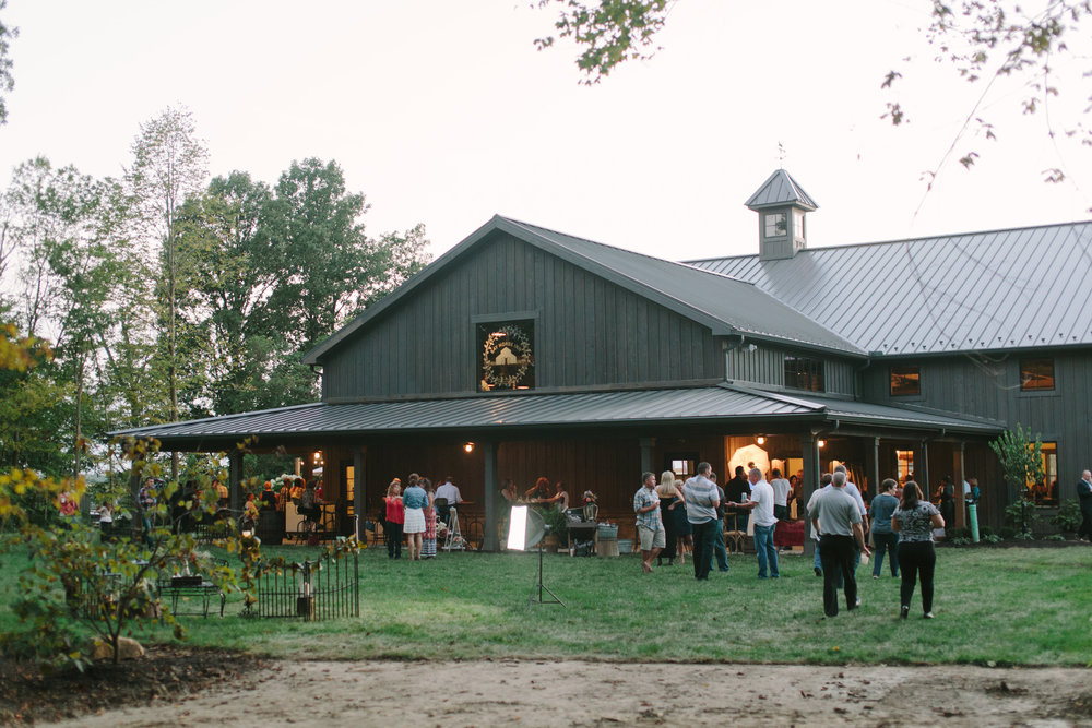Outdoor areas of the Barn
