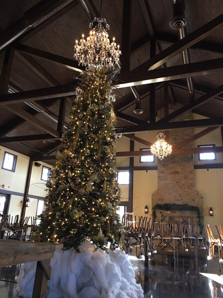 Top this Tree Topper Crystal Chandelier