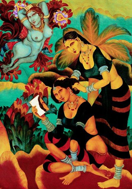 "Yayati Series - Madhyahna | Limited edition print | 39"" x 27"" | 2012"