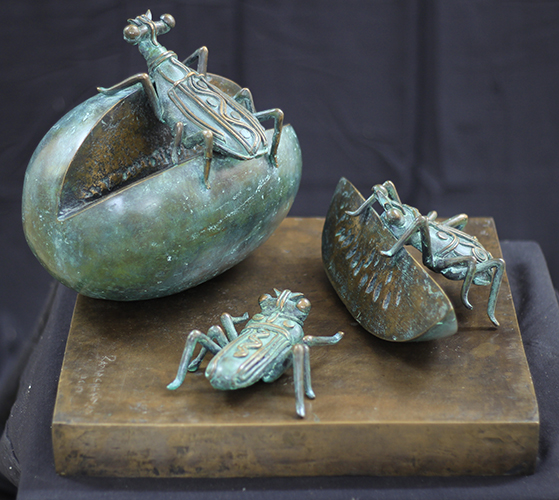 Watermelon | Bronze sculpture | Variable