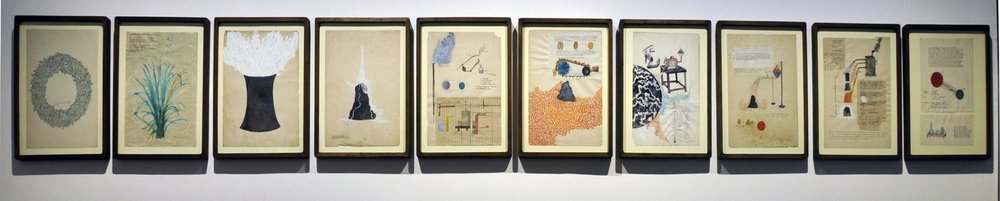 """Untitled (Set of 10 Drawings) 