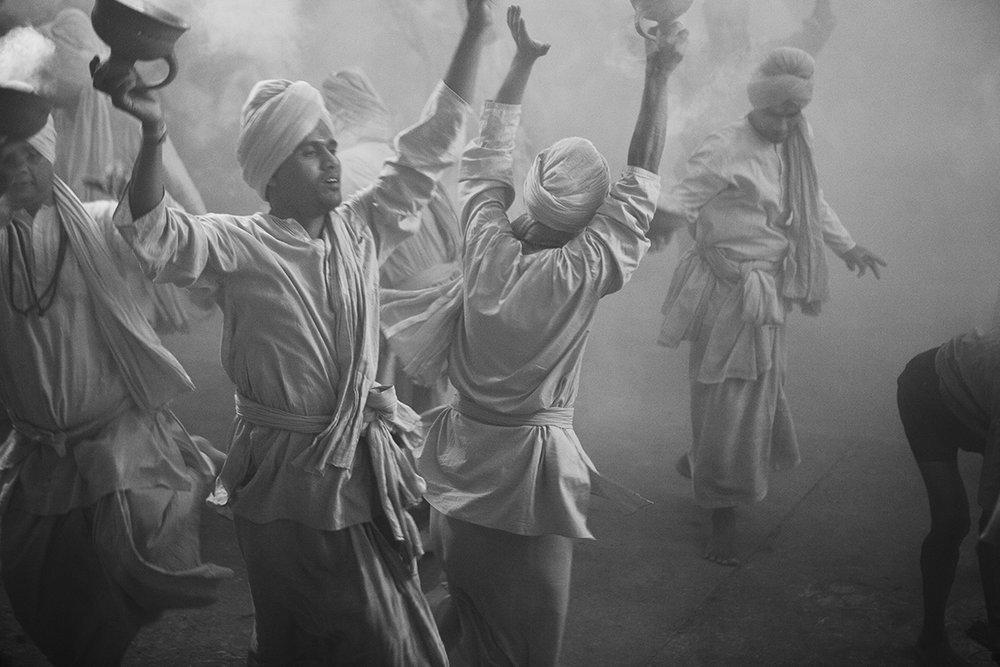 "Bharat Sevashram Sangha at Durga Puja Varanasi, Uttar Pradesh | Archival Pigment Ink on Hahnemühle FineArt Photo Rag Paper |  11"" x 16.5"" | 2008"