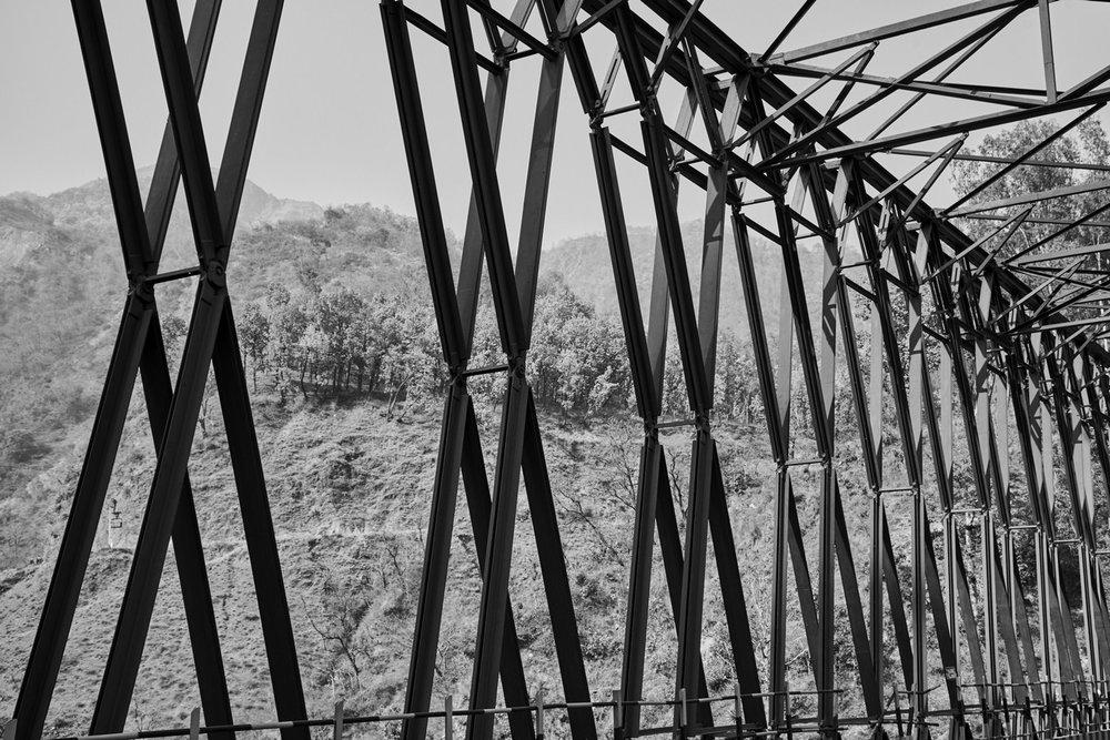 "Sataun Bridge,Himachal Pradesh, India | Photograph | 24"" x 36"" | 2017"