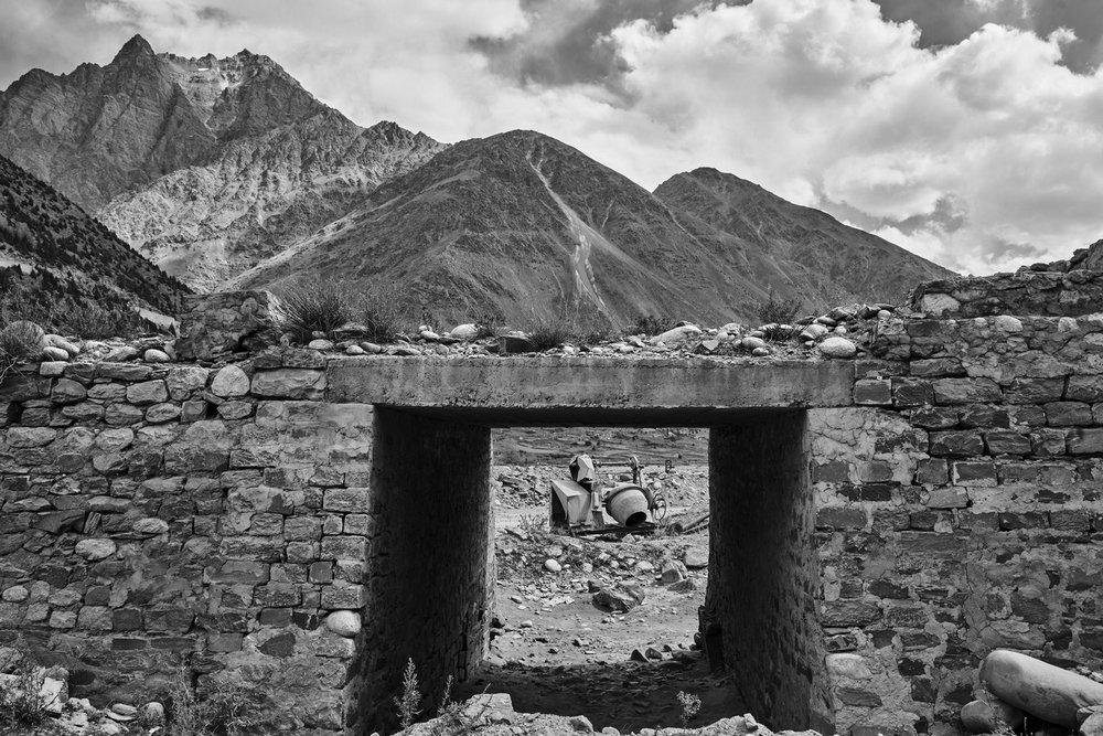 "Darcha Bridge, Bhagha River,,Himachal Pradesh, India | Photograph | 12"" x 18"" | 2016"