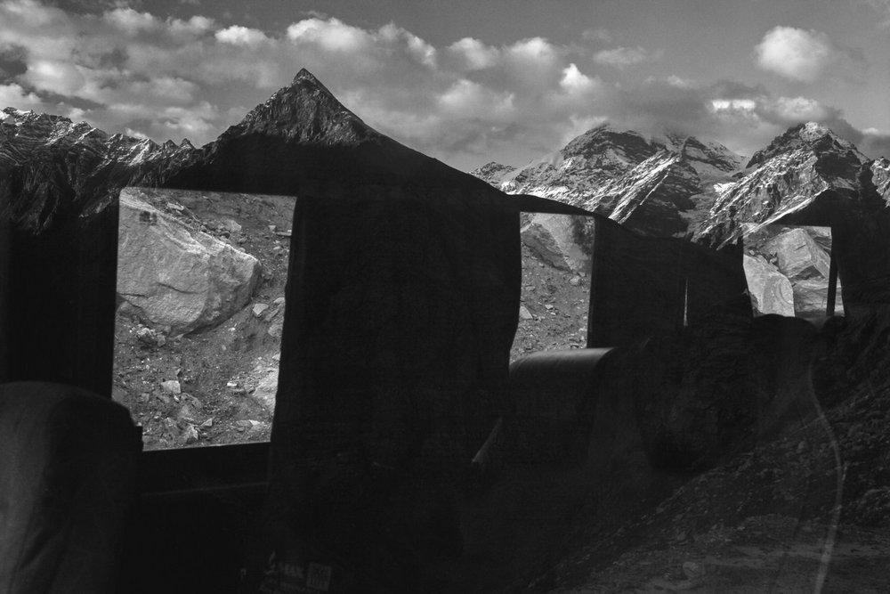 "Gramphu, Batal-Kaza Rd,Himachal Pradesh, India | Photograph | 24"" x 36"" | 2012"