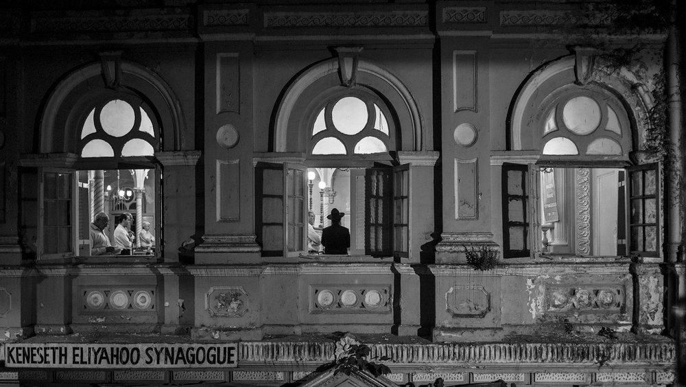 "Synagogue Mumbai 2012 | Archival pigment print | 24"" x 35"""