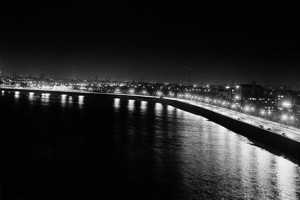 "Bombay by night 1977 | Archival pigment print | 41"" X 61"""