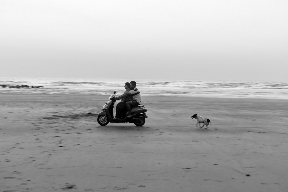 "Driving lessons and Toots Mumbai 2012 | Archival pigment print | 24"" x 35"""