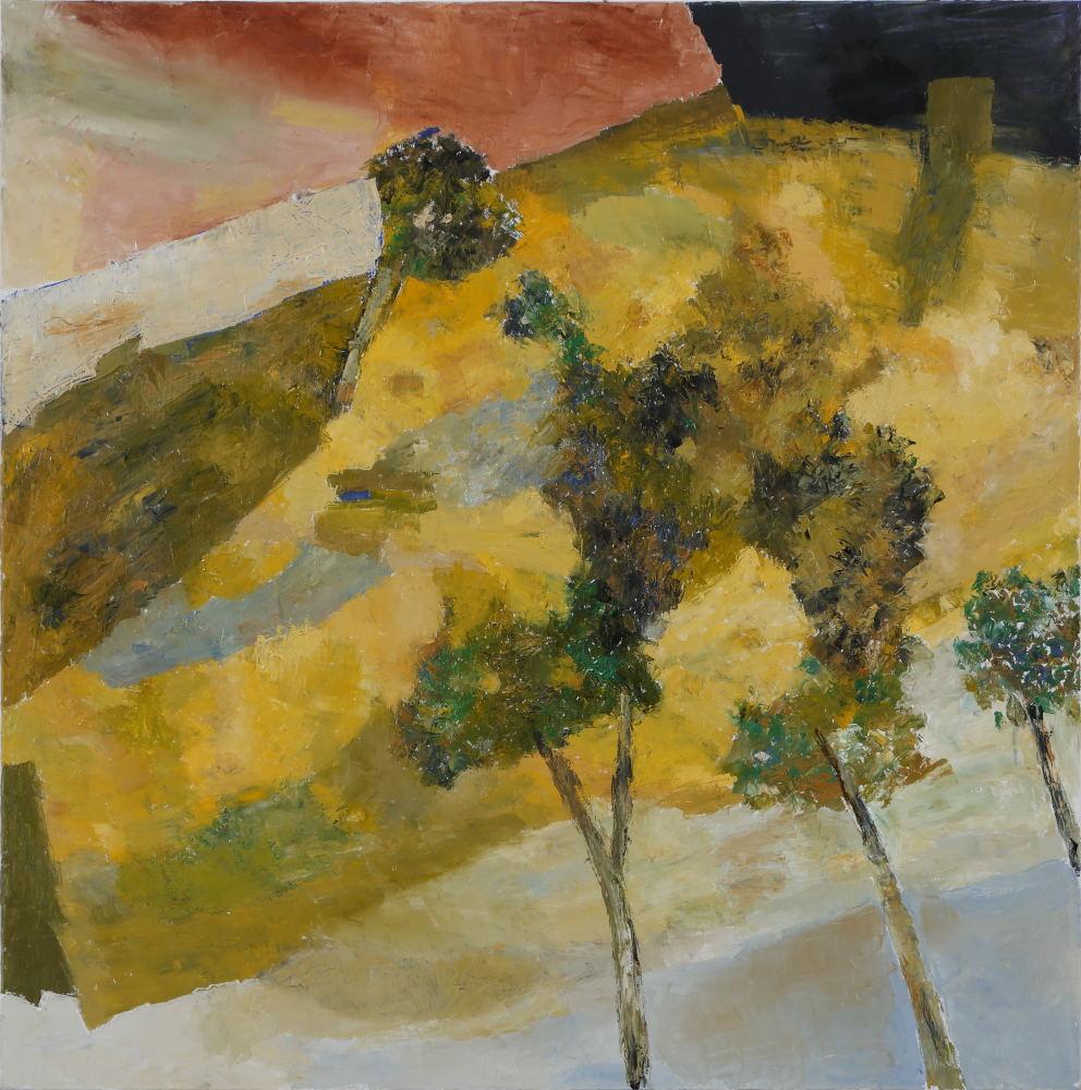 "Ram Kumar | Untitled | Oil on canvas  |36"" x 36"" | 2015"