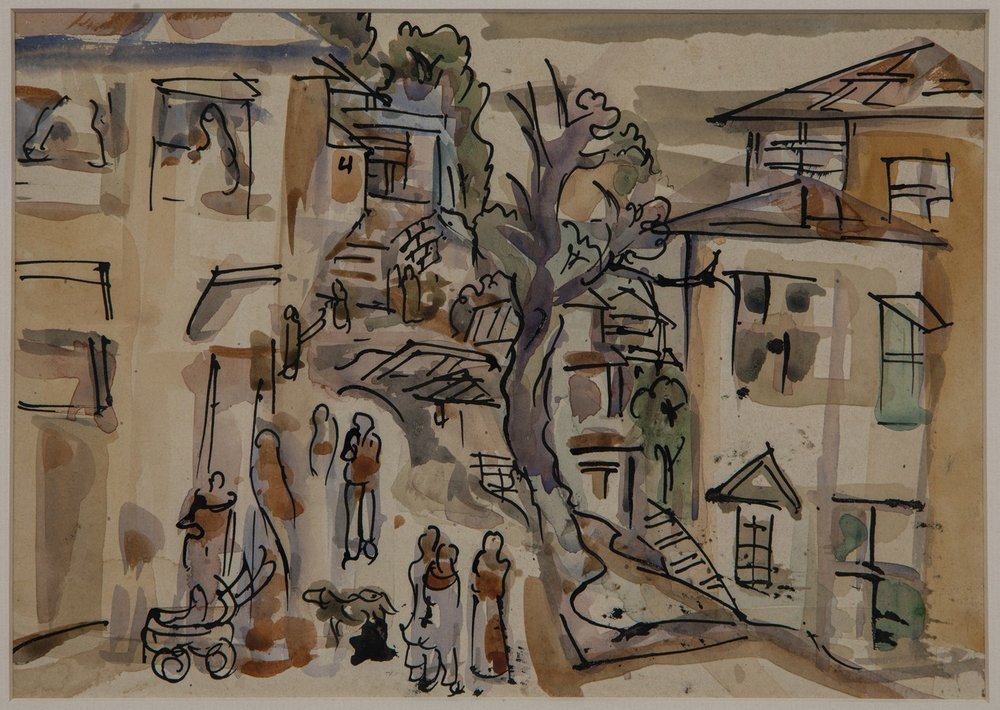 "Mussoorie | Watercolour on paper | 10"" x 7"" 