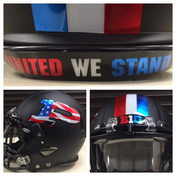 Purdue s Military Appreciation Day Helmets — Boiled Sports 4a3913171