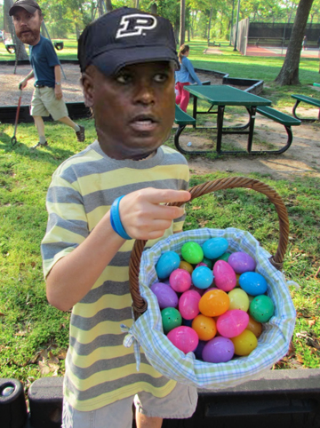 Hazel putting all of his eggs into this game's basket.