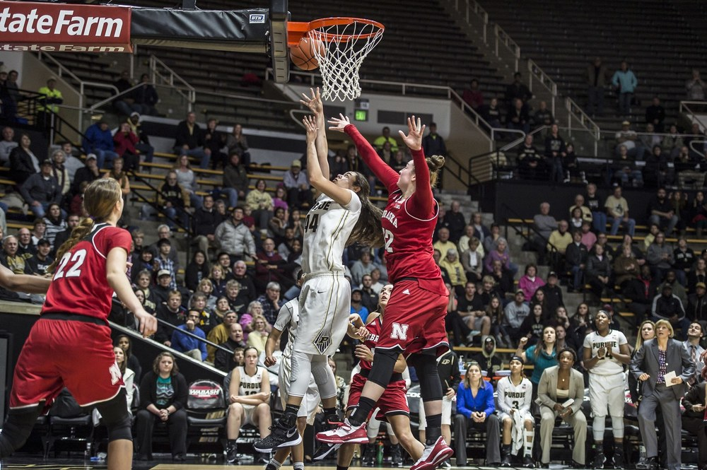 McBryde probably got fouled by Shepard here, too. Images courtesy Purdue Sports