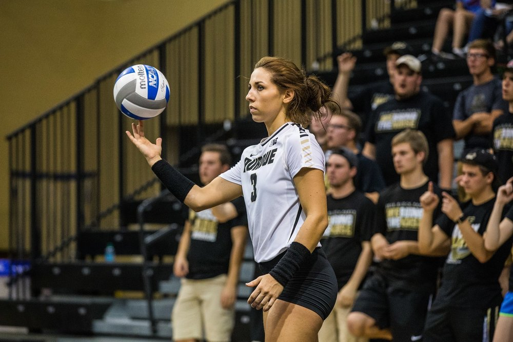 Yes, that's right, 20 digs. I'll just stand here and spin this ball while you count them.