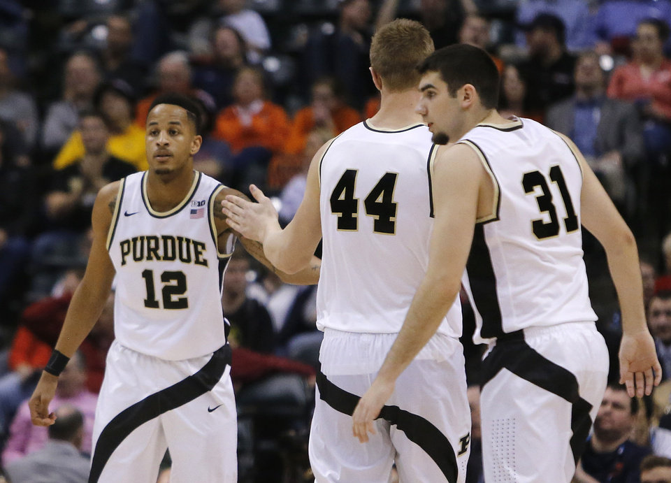 The 2/3 Junior rule: Purdue needs 2 out of these 3 handsome Boilers for a deep run.