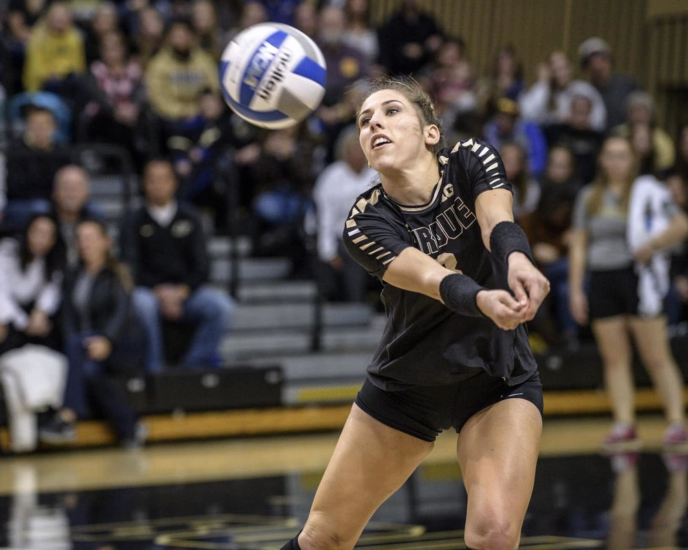 Peters improved her career high by two, topping her 22-dig effort last week at Iowa.